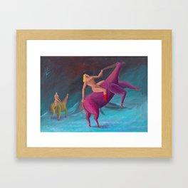 horsepower 2 Framed Art Print