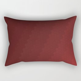 Simply Red Rectangular Pillow