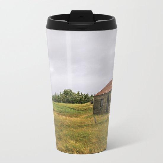 Little House on the Prairie Metal Travel Mug