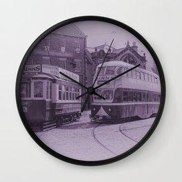 Classic Trams Wall Clock
