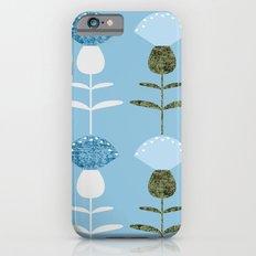 MCM Basket Flower Blue Slim Case iPhone 6s