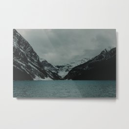 Spellbound - At Lake Louise Metal Print