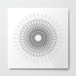 Rosone 2 Metal Print