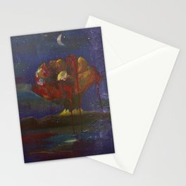 When it explodes.  Stationery Cards