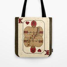 el Rey De Corazones Tote Bag