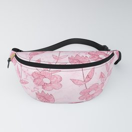 Watercolor Floral II Fanny Pack