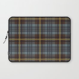 Faded Johnstone Scottish Tartan Laptop Sleeve