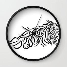 Komondor Tribal Wall Clock