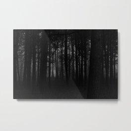 Murky Woods Metal Print