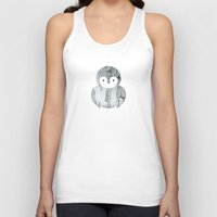 sparrow Tank Tops featuring Sparrow by Wise Idea