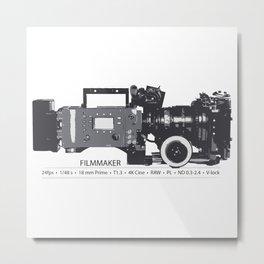 Filmmaker Metal Print