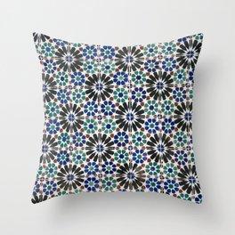 Azulejos Lisbon Portugal 4 Throw Pillow