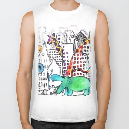 Urban Jungle Biker Tank