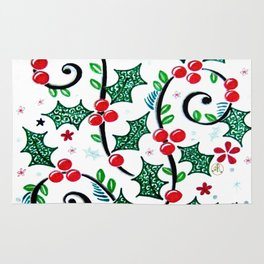 Christmas Curls Rug