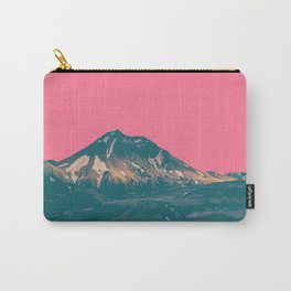 Pink Mountain Carry-All Pouch