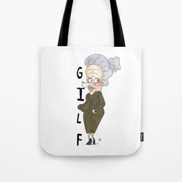Grandmother Ivy Louise Frankfurt Tote Bag