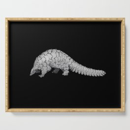 Endangered Animals - Pangolin Serving Tray
