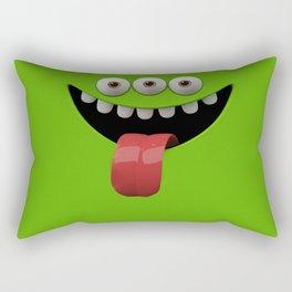 Funy face Rectangular Pillow