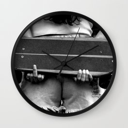 You Don't Own Me Wall Clock