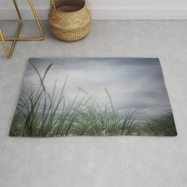 stormy seagrass Rug