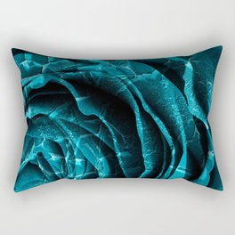 Nuclear Winter Rose Rectangular Pillow