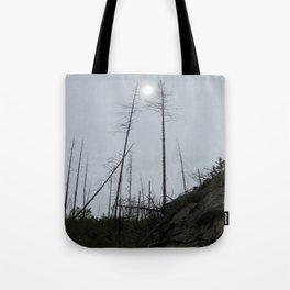 Burnt Forest Tote Bag