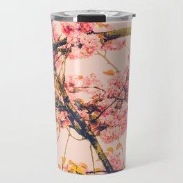 sweet sweet cherry blossoms Travel Mug