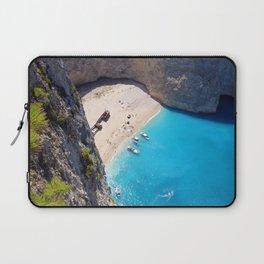 Hidden Beach & Shipwreck 2 Laptop Sleeve