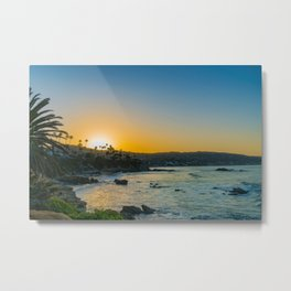 Laguna Sunrise Metal Print