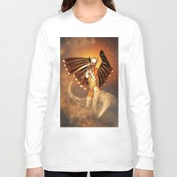 angel Long Sleeve T-shirts featuring Angel by nicky2342