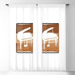 Piano  TShirt Music Instrument Shirt Musician Gift Idea Blackout Curtain