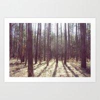 nature hike. Art Print