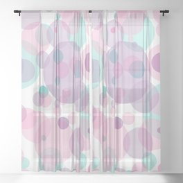 Unicorn Dream Sheer Curtain