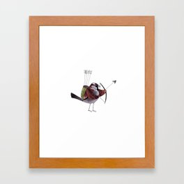 With my bow and arrow Framed Art Print