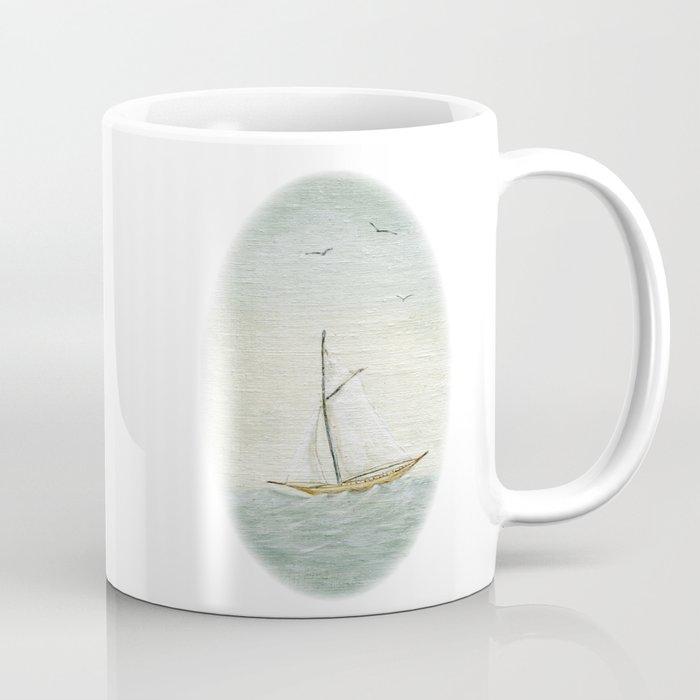 OLD SAIL BOAT Coffee Mug