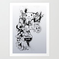 Better Teeth Art Print