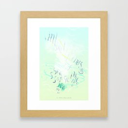 """Imitations of the Sea"" by Amor Towles Framed Art Print"