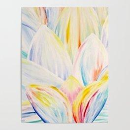 Rainbow Lotus Poster