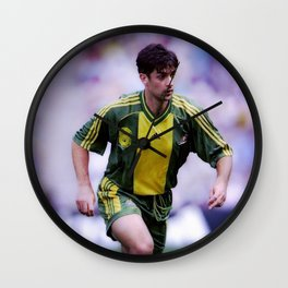 Ned Zelic Wall Clock