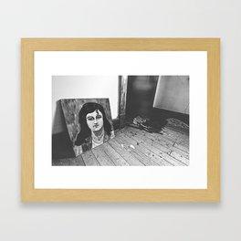Found Art Framed Art Print