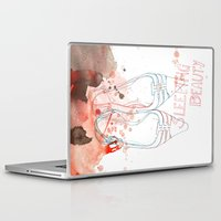 shoes Laptop & iPad Skins featuring shoes by Sabine Israel