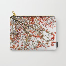 Red rowan fruits or ash berries Carry-All Pouch