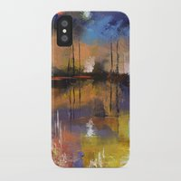 fireworks iPhone & iPod Cases featuring Fireworks by Michael Creese