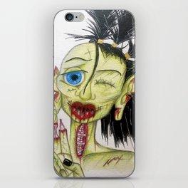 ZomBie Mine iPhone Skin