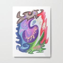 Drawing #139 Metal Print