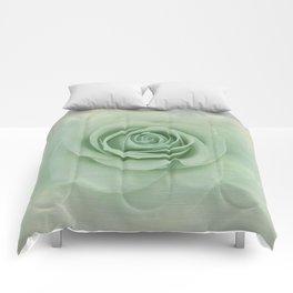 Dreamy Vintage Floating Rose Comforters