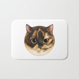 Round Cat - Lang Bath Mat