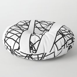 Lazer Dance X Floor Pillow