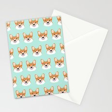 Corgi glasses cute funny dog gifts for welsh corgi dog breed owners must haves by pet friendly Stationery Cards