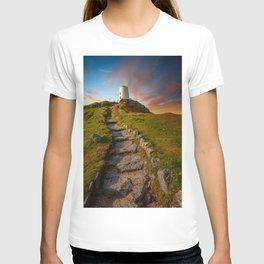 Llanddwyn Tower Anglesey T-shirt
